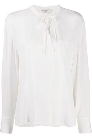 Vince Tie-neck blouse
