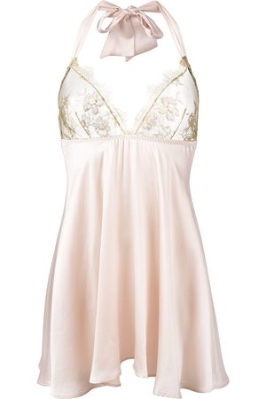 Gilda & Pearl Harlow babydoll slip dress - Neutrals