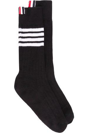 Thom Browne Athletic Mid-Calf 4-Bar socks