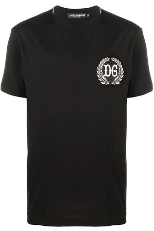 Dolce & Gabbana DG patch cotton T-shirt