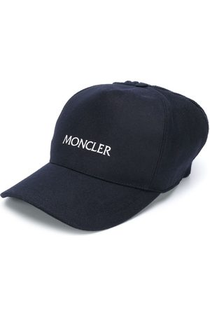 Moncler Embroidered logo knit detail cap