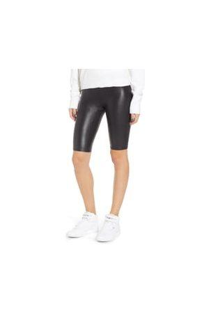 SPANXR Women's Spanx Faux Leather Bike Shorts