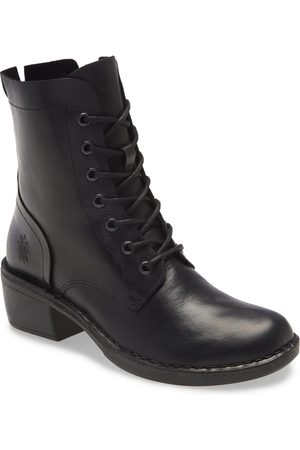 Fly London Women's Milu Lace-Up Leather Boot