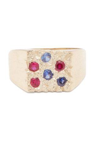 Bleue Burnham Rose Garden Sapphire & Ring - Mens