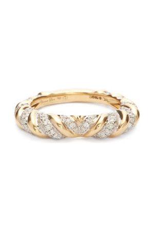 YVONNE LÉON Heart Alliance Diamond & 18kt Ring - Womens