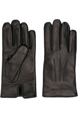 Emporio Armani Men Gloves - Engraved logo gloves