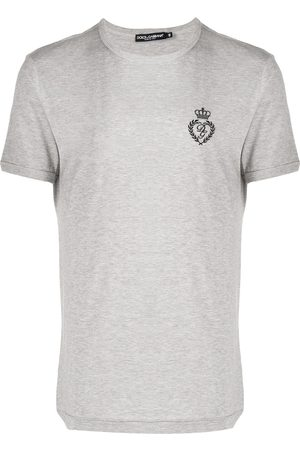 Dolce & Gabbana Embroidered logo t-shirt - Grey