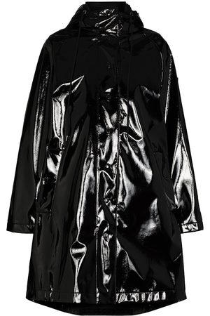 Moncler Pott vinyl hooded coat