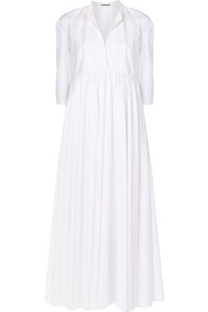 Jil Sander Gathered shirt dress