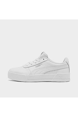 Puma Girls Casual Shoes - Girls' Little Kids' Carina Leather Casual Shoes in