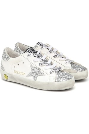 Golden Goose Girls Sneakers - Superstar glitter sneakers