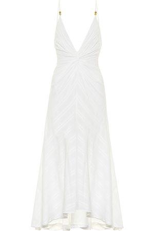 GALVAN Women Midi Dresses - Riviera cotton midi dress