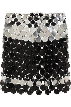 Paco rabanne Paillette-embellished miniskirt