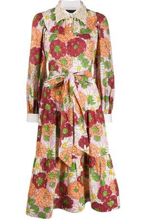 Marc Jacobs Women Printed Dresses - Floral print silk dress