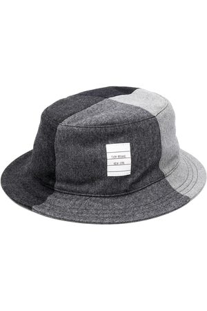 Thom Browne Flannel bucket hat - Grey