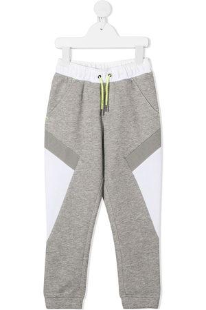 HUGO BOSS Colour-block track pants - Grey