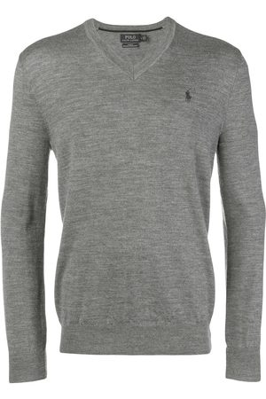 Polo Ralph Lauren Classic v-neck sweater - Grey