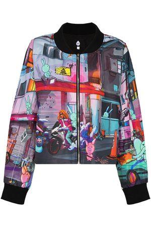 Natasha Zinko Graphic-print bomber jacket