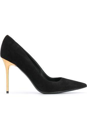 Balmain Women Heels - Ruby suede pumps