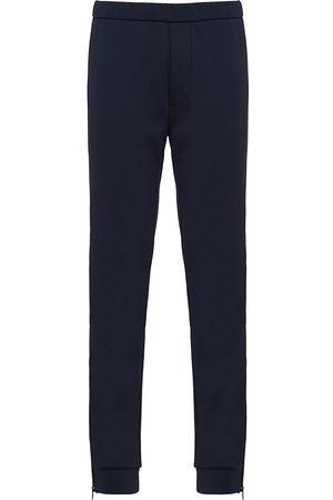 Prada Technical fleece track pants
