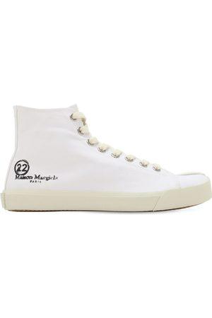 Maison Margiela 20mm Vandal Cotton Canvas Sneakers