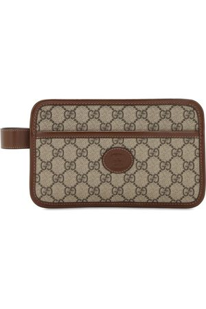 Gucci Men Toiletry Bags - Gg Canvas Mini Bag