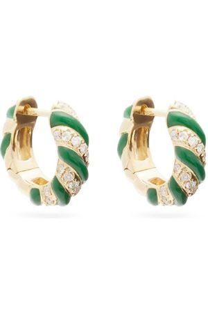 YVONNE LÉON Créole Diamond & Hoop Earrings - Womens