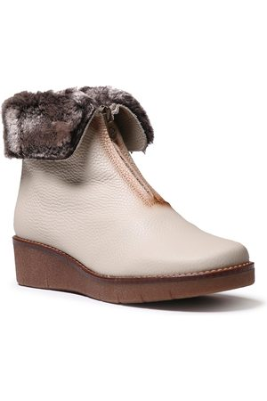 Toni Pons Women's Arcalis Faux Fur Wedge Bootie