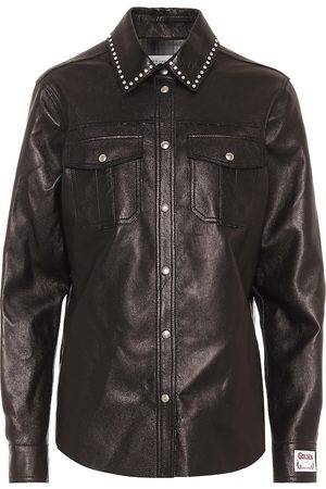 Golden Goose Aleida leather shirt