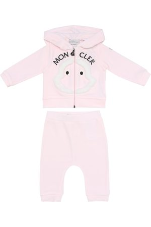 Moncler Baby cotton fleece tracksuit