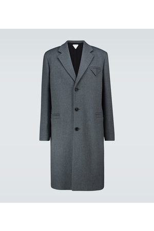 Bottega Veneta Single-breasted wool coat