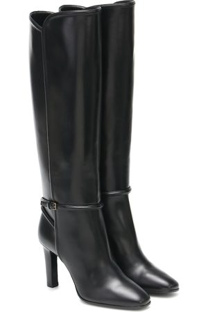 Saint Laurent Jane leather knee-high boots