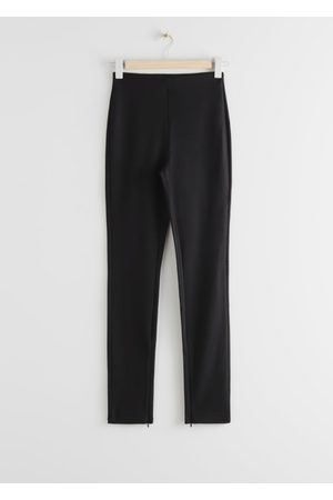 & OTHER STORIES Fitted Zipper Leggings