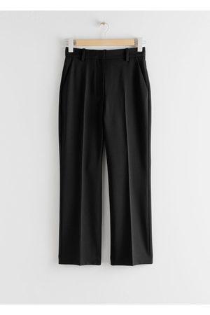 & OTHER STORIES Wool Blend Kick Flare Trousers