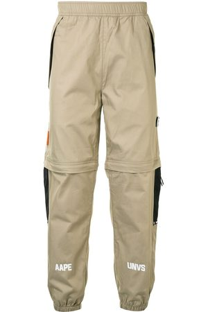 AAPE BY *A BATHING APE® Adjustable track trousers - Neutrals