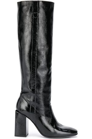 Ami Block-heel knee-high boots