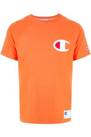 Champion Men T-shirts - Logo patch crew neck T-shirt
