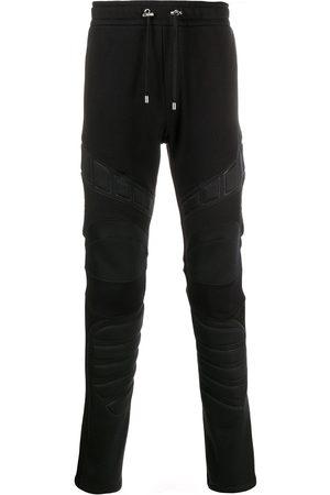 Balmain Men Sweatpants - Panelled padded track pants
