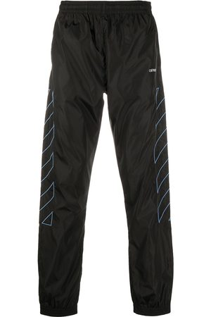 OFF-WHITE Diagonal stripes track pants