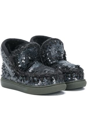 Mou Eskimo sequinned snow boots