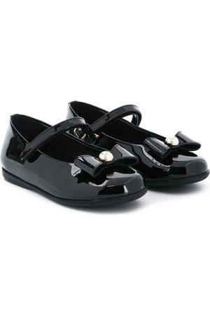 Dolce & Gabbana Bow detail ballerina shoes