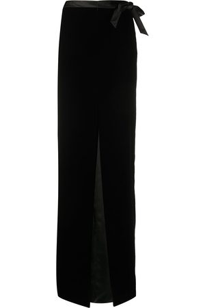 Saint Laurent Velvet long skirt