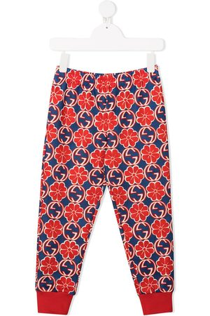 Gucci Interlocking G floral track pants