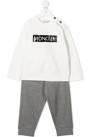 Moncler Logo two-piece tracksuit set