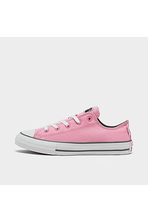 Converse Girls' Big Kids' Chuck Taylor Low Top Casual Shoes Size 5.0 Canvas
