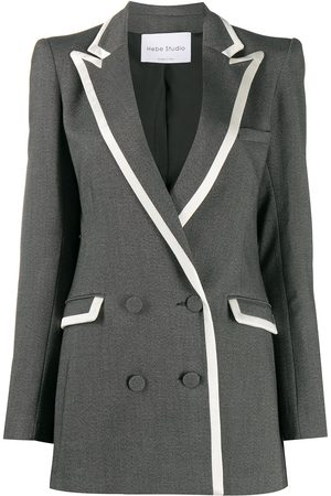 HEBE STUDIO Double-breasted blazer - Grey