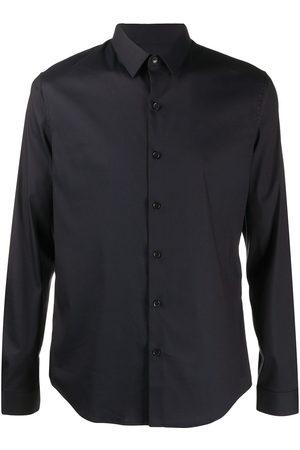 Sandro Men Long sleeves - Plain long-sleeved shirt