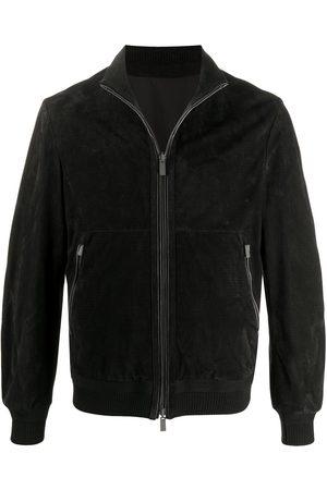 Ermenegildo Zegna Suede bomber jacket