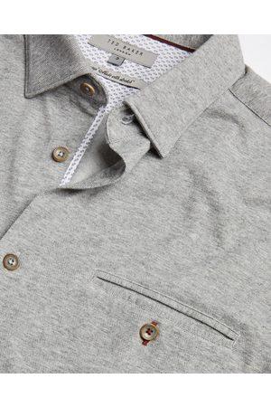 Ted Baker Cotton Blend Jersey Shirt