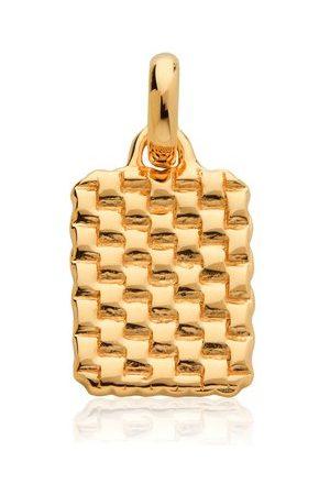 Monica Vinader Women Necklaces - Gold Doina Pendant